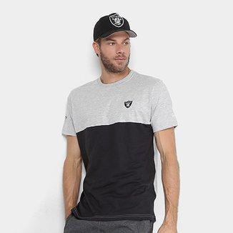 c785122e21dce Camiseta NFL Oakland Raiders New Era Tri Sport Masculina