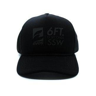 3d1be5ef7fe86 Boné Evos Surfing Trucker Swell Logo