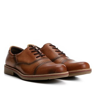 a3ceb8a6b7 Sapato Casual Couro Walkabout Brogues