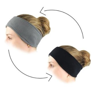 c5286684678 Protetor de Orelha Headband Dupla Face Thermo Fleece