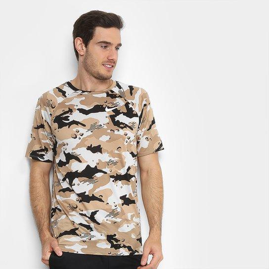 Camiseta Nike Dry Camuflada Masculina - Compre Agora  0a01ad6e63a