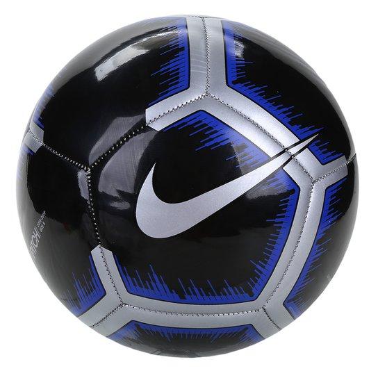 ad8026e258b48 Bola de Futebol Campo Pitch Nike - Preto e Cinza - Compre Agora ...