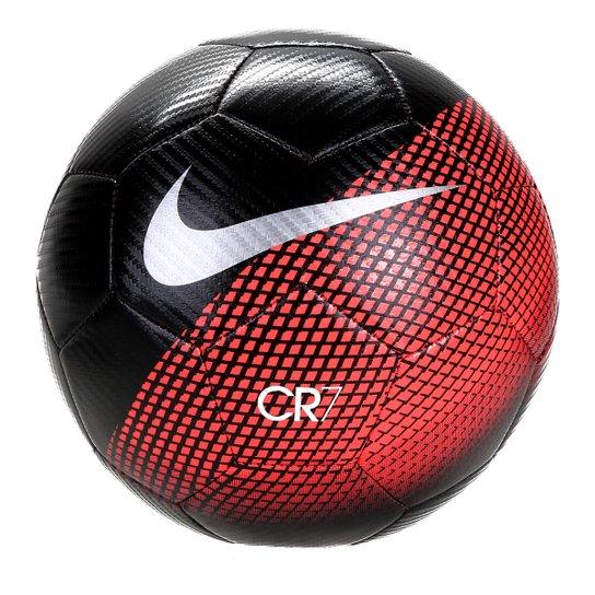 Bola de Futebol Campo CR7 Nike Prestige - Preto e Cinza - Compre ... 2da86bee6488b