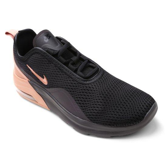8b41c1efe Tênis Nike Wmns Air Max Motion Feminino - Preto e Cinza - Compre ...