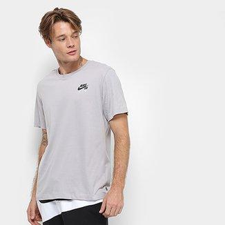 ea7c19b10b84e Camiseta Nike SB Básica Estampada Dry Air Masculina