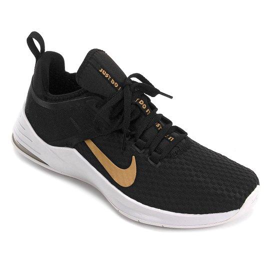 8104534fe66 Tênis Nike Air Max Bella Tr 2 Feminino - Preto e Cinza - Compre ...