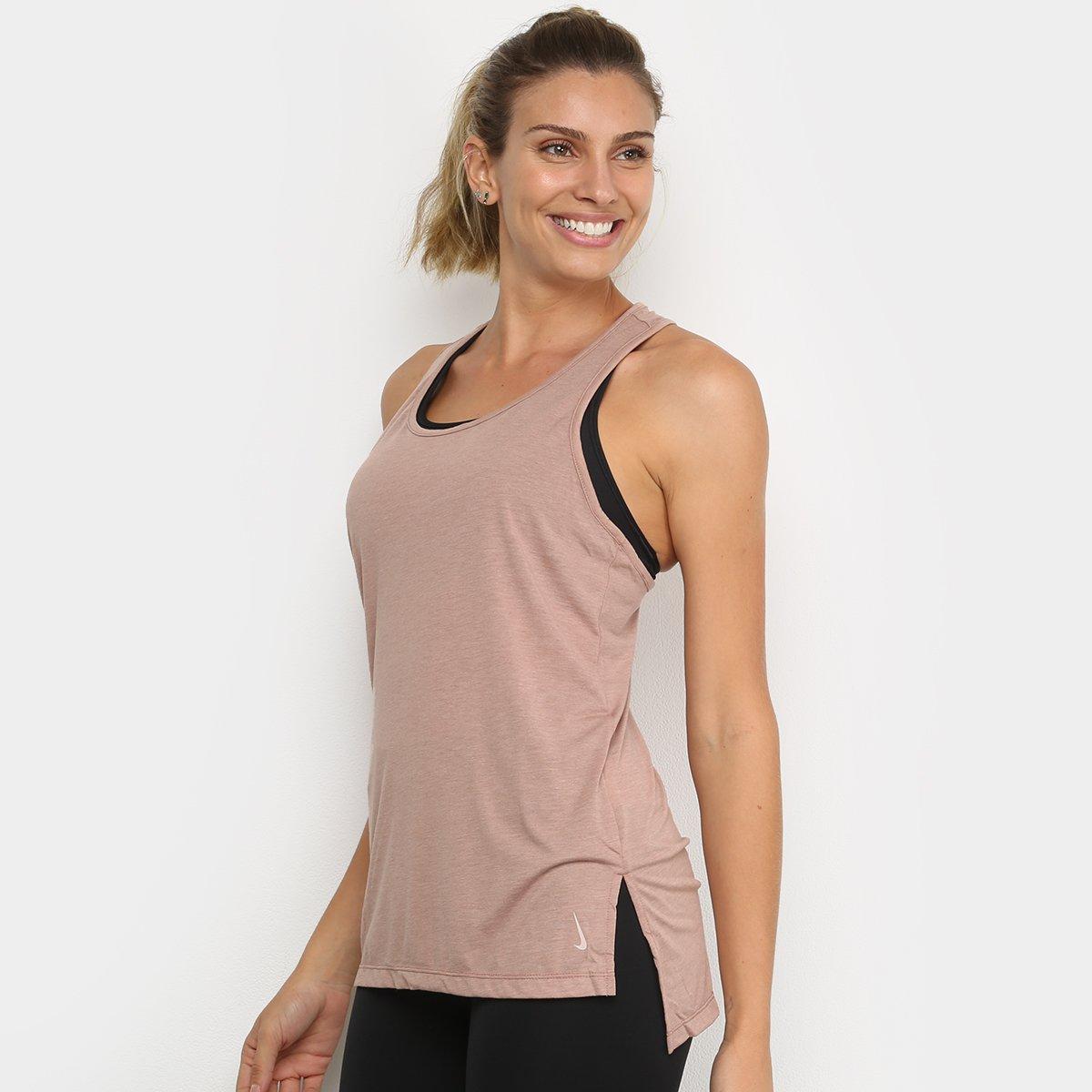 Regata Nike Yoga Layer Tank Feminina