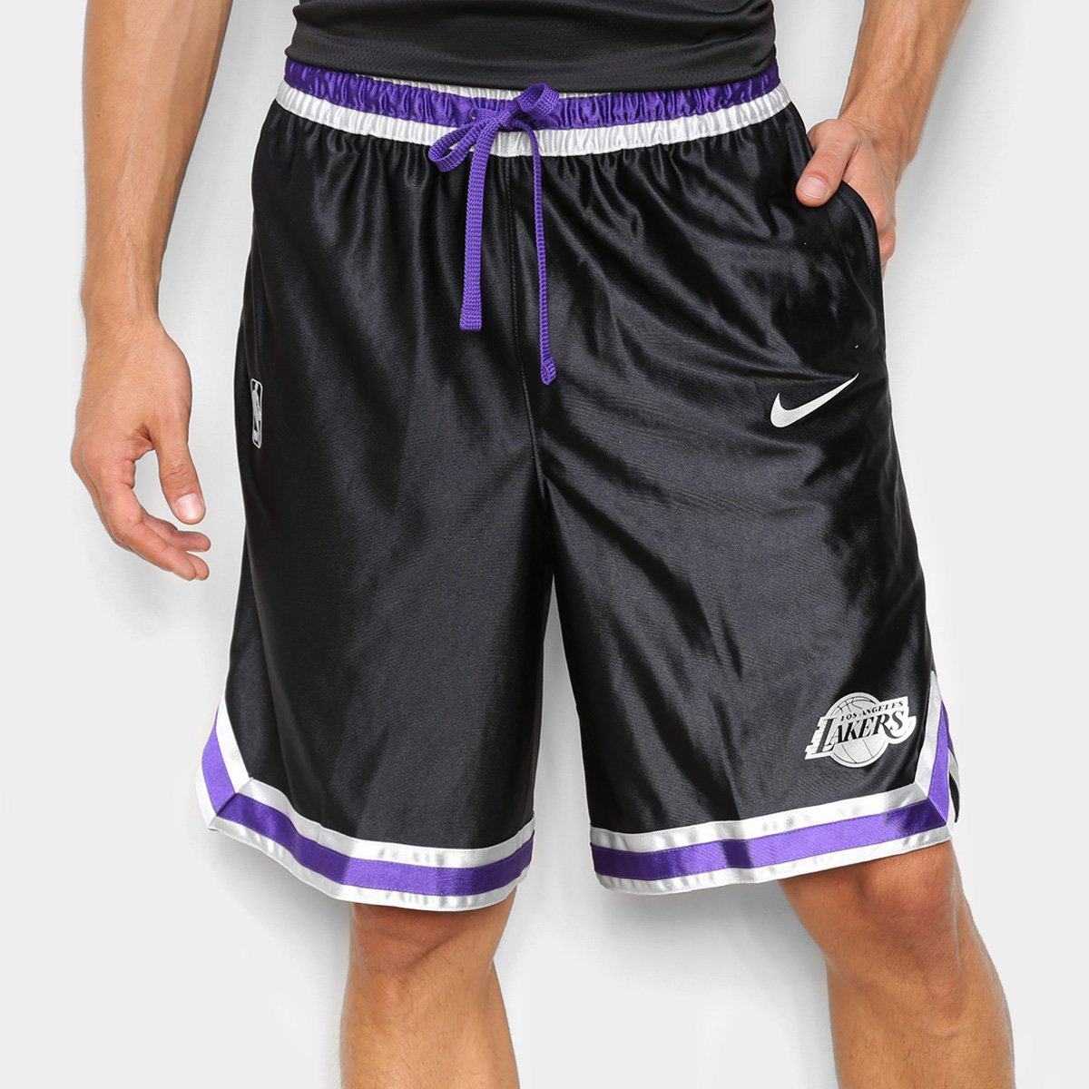Bermuda NBA Los Angeles Lakers Nike Courtside Masculina