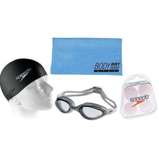 c0f8ab3c7 Kit Natação Óculos + Toalha + Protetor e Touca - Compre Agora