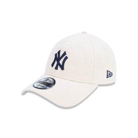 Boné 920 New York Yankees MLB Aba Curva Strapback New Era - Compre ... 2f0c284843277