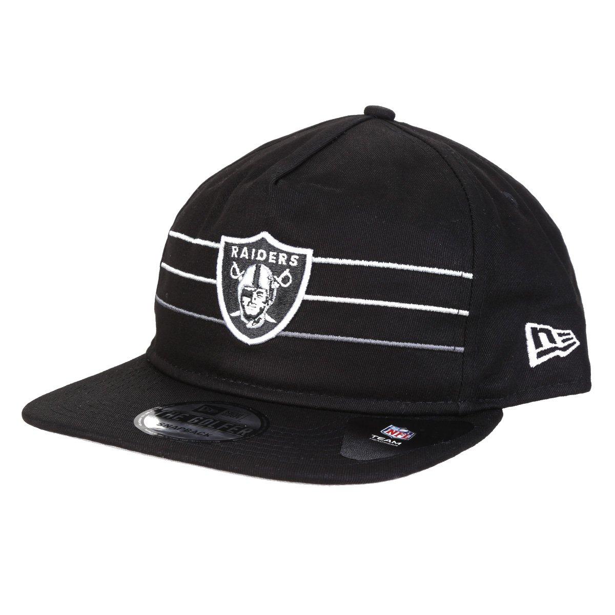 Boné NFL Las Vegas Raiders New Era Aba Reta Golfer
