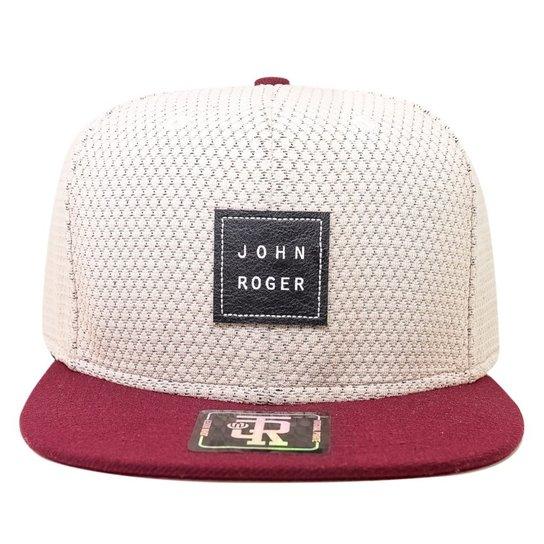 Boné John Roger Snapback - Compre Agora  61ba8ae5201