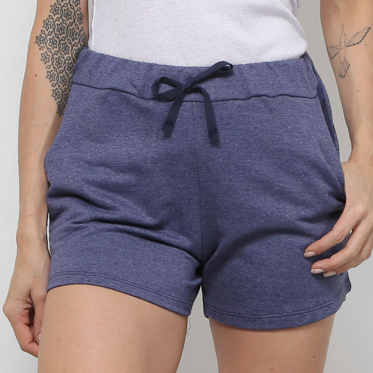 Foto 2 - Kit 3 Shorts Costão Fashion Style Feminino