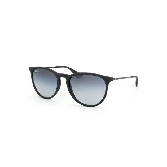 e63fe2ea2 Óculos de Sol Ray Ban Erika - Preto e Cinza | Netshoes