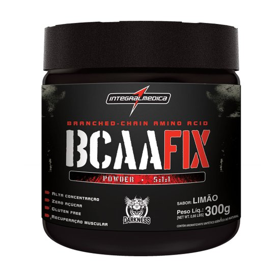 94c069625 BCAA Fix Power Darkness 300 g - IntegralMédica - Compre Agora