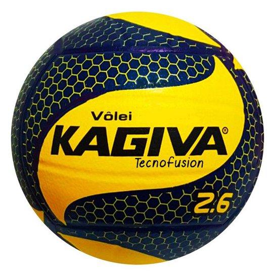 Bola Vôlei 2.6 Kagiva - Amarelo e Marinho - Compre Agora  9ed0efd48f997