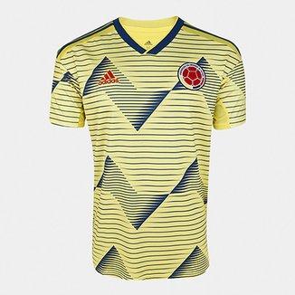 acda24f83f233 Camisa Colômbia Home 19/20 s/n° Torcedor Adidas Masculina