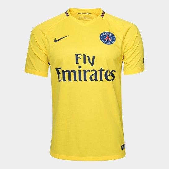 62f65fa30e81b Camisa Paris Saint-Germain Away 17 18 s n° - Torcedor Nike Masculina ...