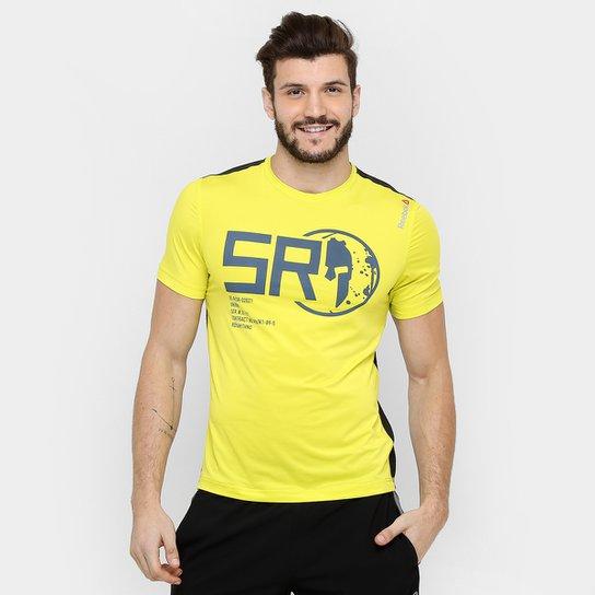 7b166b2a0 Camiseta Reebok Spartan Race Pro - Amarelo