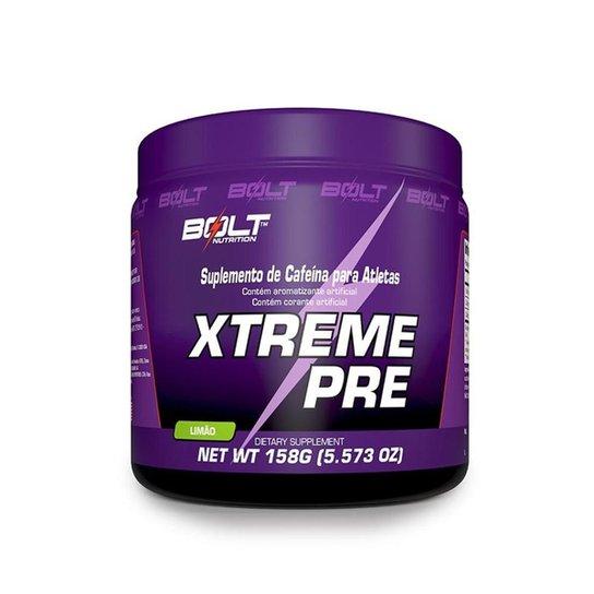 7ca4117b4 XTREME PRE 158g Bolt Nutrition - Compre Agora