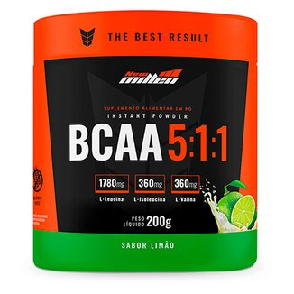 db8ee4fa64c81 Bcaa Powder 5 1 1 New Millen 200g