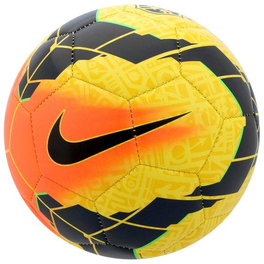 2d2f335bae Bola Nike CBF Menor Futsal - Amarelo+Laranja