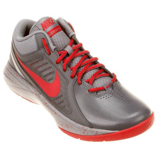 Tênis Nike The Overplay 8 - Chumbo+Vermelho 0b0a8763231d2