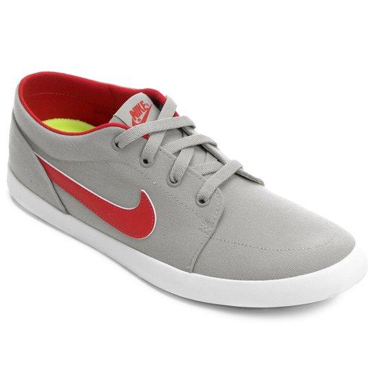 8fb0e7cd8f Tênis Nike Futslide Cnvs - Cinza+Vermelho