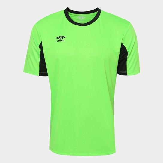 Camisa Umbro Core - Verde Limão+Preto 75681b4c78a6f
