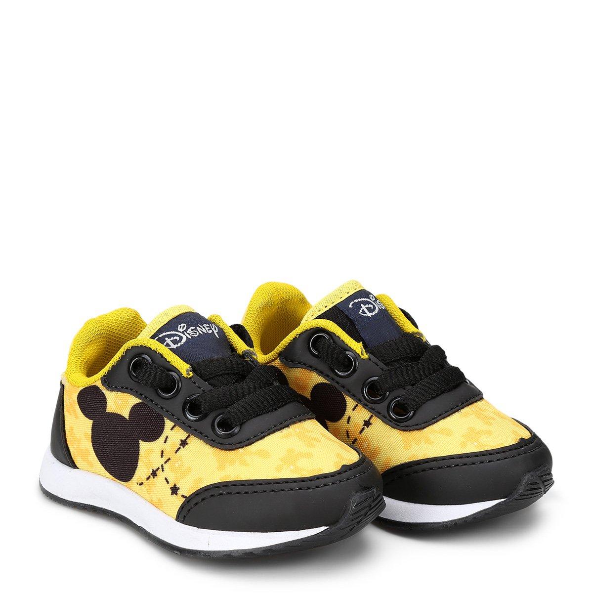 1be833719f Tênis Infantil Disney Mickey Masculino