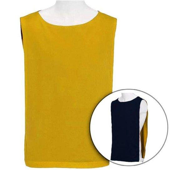 Colete Dupla Face - Kit 15 Peças - Amarelo e Preto - Compre Agora ... 15cf610565f01