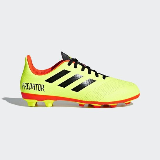 Chuteira Campo Infantil Adidas Predator 18 4 FG - Compre Agora ... 22a8d80dfa95f
