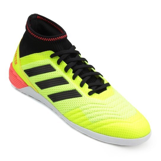 2396272711d0d Chuteira Futsal Adidas Predator Tan 18 3 IN - Amarelo+Preto