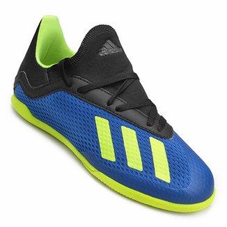 Chuteira Futsal Infantil Adidas X Tango 18 3 IN ed7e2249907a8