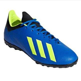 Chuteira Society Infantil Adidas X Tango 18 4 TF 4bcb668dd3a2c