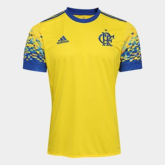 6e93f165ac515 Camisas de Time Adidas Masculino Amarelo - Futebol | Netshoes
