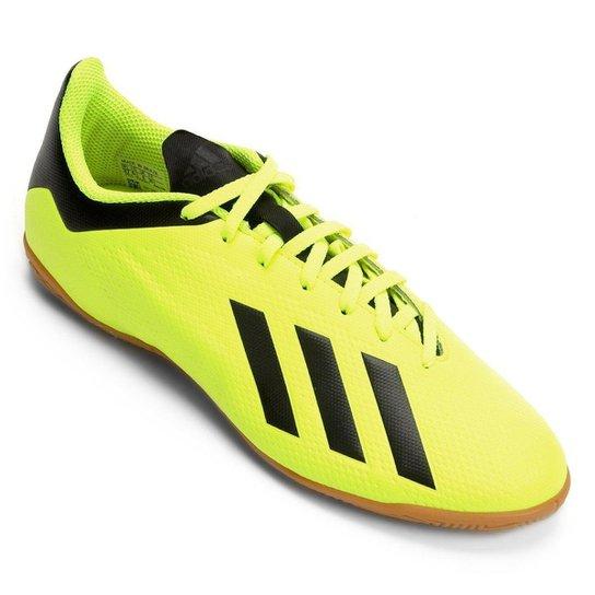34af7e05ac Chuteira Futsal Adidas X Tango 18 4 IN - Amarelo e Preto