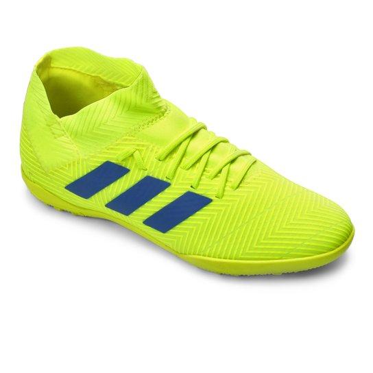 3ffba500a Chuteira Society Infantil Adidas Nemeziz 18.3 TF - Amarelo e Azul ...