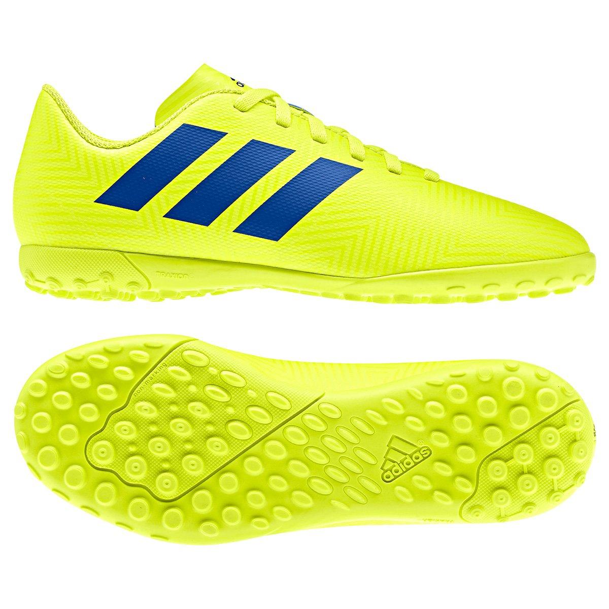 3763f1aa037bc Chuteira Society Infantil Adidas Nemeziz 18 4 TF