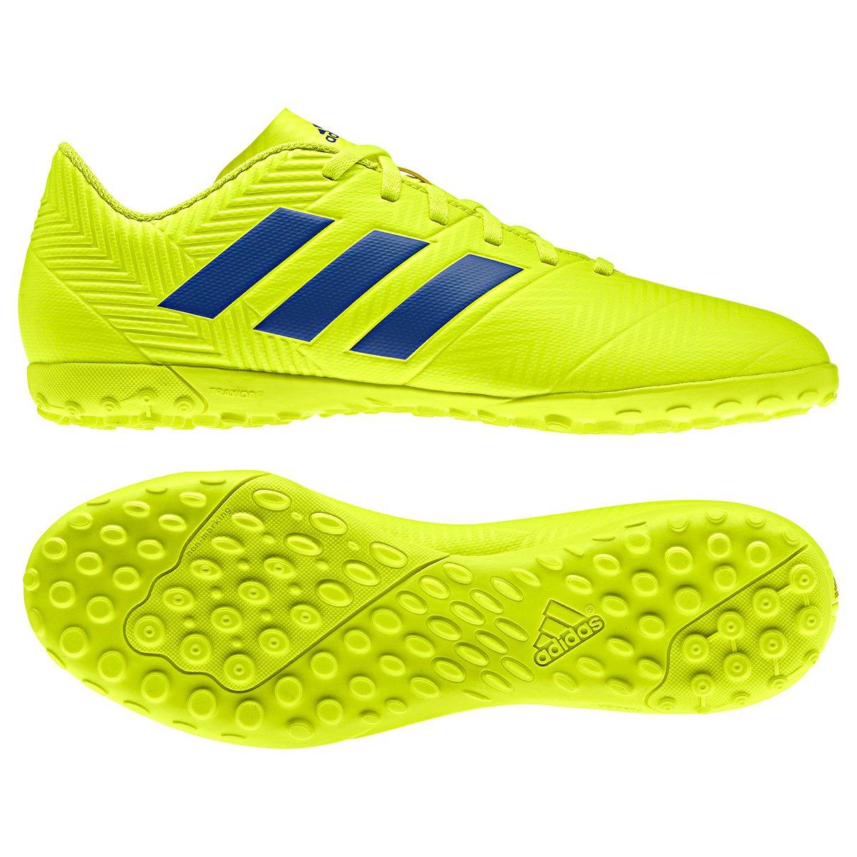 FornecedorNetshoes. Chuteira Society Adidas Nemeziz 18 4 TF 7fa13020dc025