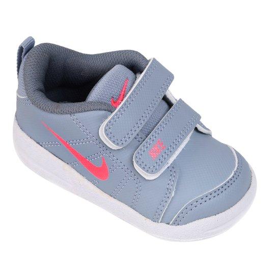 6527c768b1 Tênis Infantil Nike Pico Lt - Cinza e Vermelho - Compre Agora