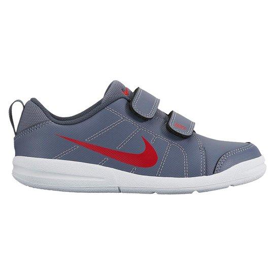 Tênis Infantil Nike Pico Lt - Cinza e Vermelho - Compre Agora  0891bb0a7aa0e