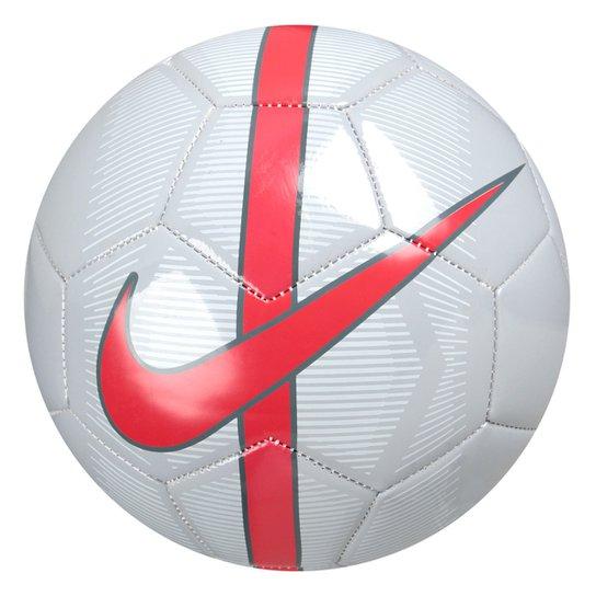 Bola Futebol Campo Nike Mercurial Fade - Cinza e Vermelho - Compre ... 82d65d7d6ec7b