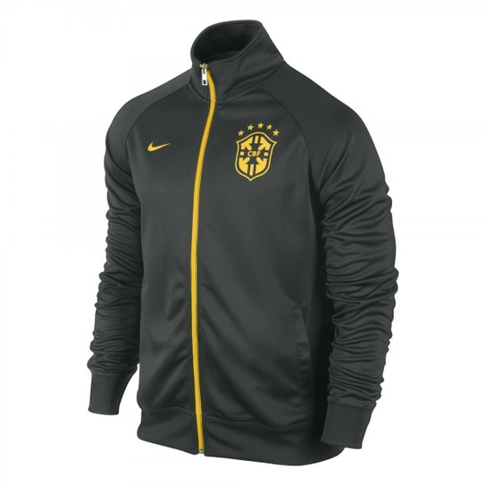 Jaqueta Nike CBF Core Trainer - Compre Agora  2a0475b6aeca1