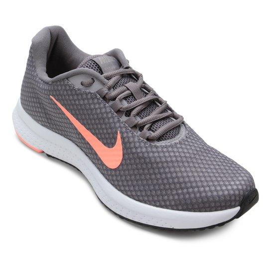 ca40d79f6c2 Tênis Nike Runallday Feminino - Cinza e Salmão - Compre Agora