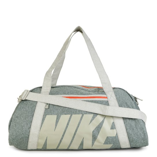 baf502ecb Bolsa Nike Gym Club Feminina - Cinza e Vermelho | Netshoes