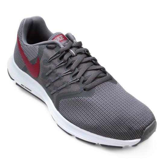 b77ae473ea Tênis Nike Run Swift Masculino - Cinza+Vermelho