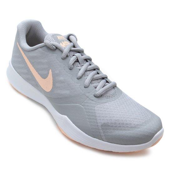 4d078d6f2be Tênis Nike City Trainer Feminino - Cinza e Salmão - Compre Agora ...