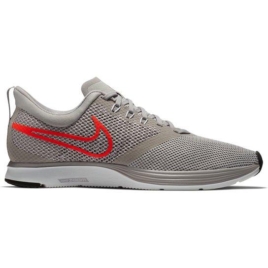 b742063cc1 Tênis Nike Zoom Strike Masculino - Cinza e Vermelho - Compre Agora ...