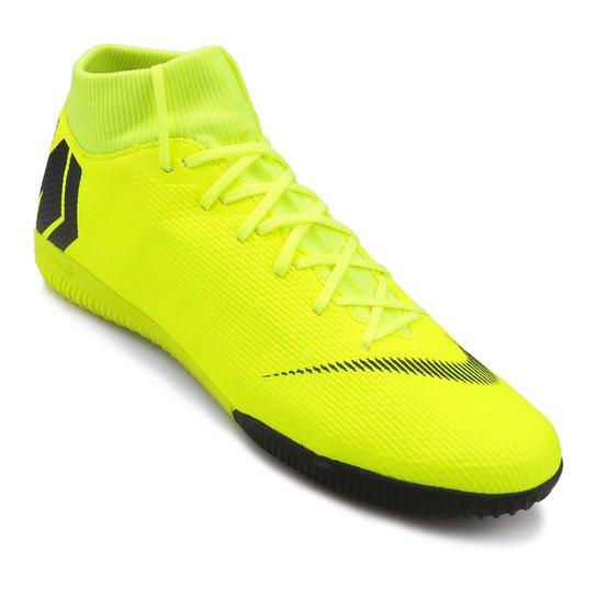 15cd3832e9 Chuteira Futsal Nike Mercurial Superfly 6 Academy - Amarelo e Preto ...